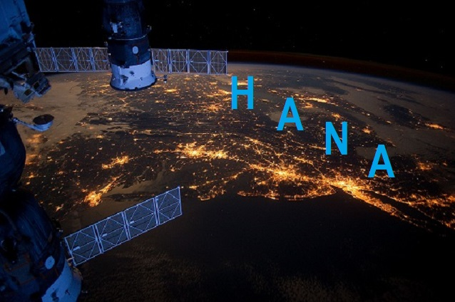 SAP HANA from Space Level