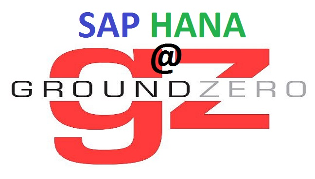 SAP HANA at Ground Zero