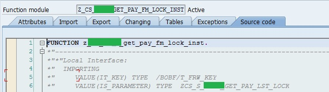 IT_KEY & IS_PARAMETER