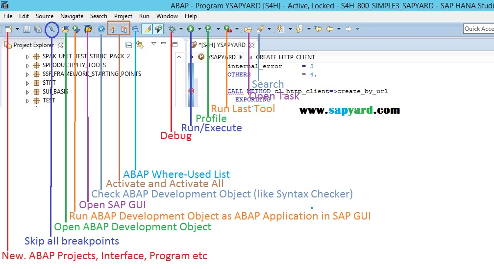 ADT in SAP HANA Studio