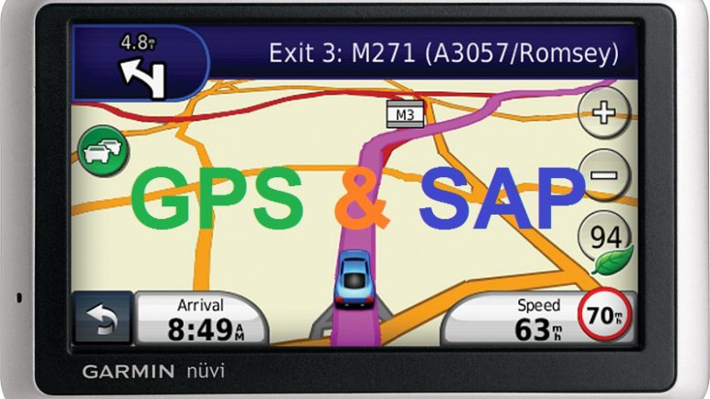 GPS like tool in SAP