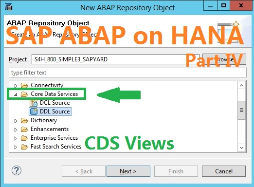 ABAP on SAP HANA. Part IV