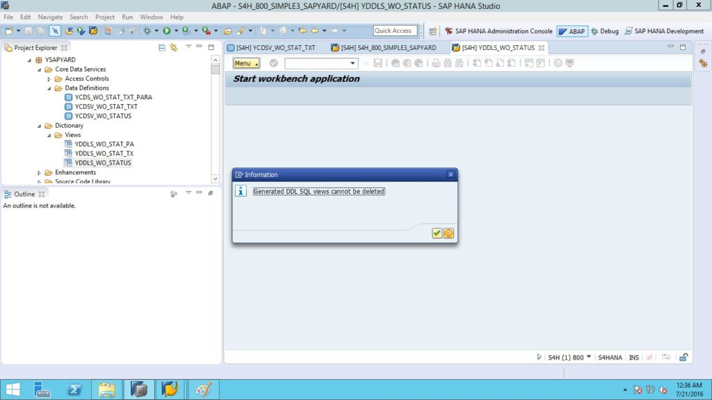 SAP ABAP for HANA
