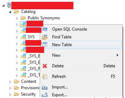 Consume Stored Procedure in ABAP