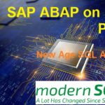ABAP on SAP HANA. Part VI