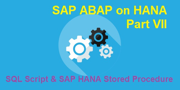 Consume Stored Procedures in SAP HANA