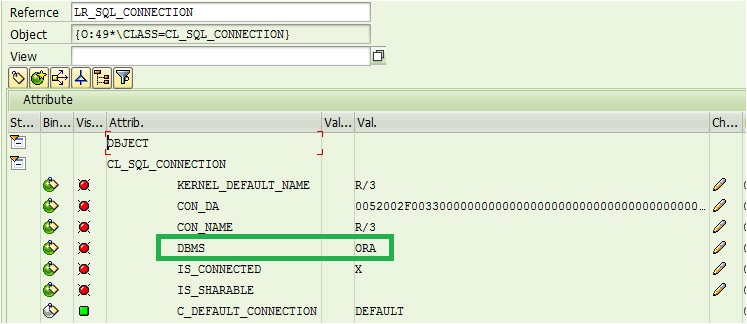 Database Connectivity in SAP