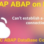 ABAP on SAP HANA. Part VIII. ADBC – ABAP DataBase Connectivity