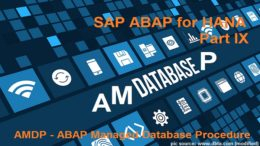 AMDP - ABAP Managed Database Procedures