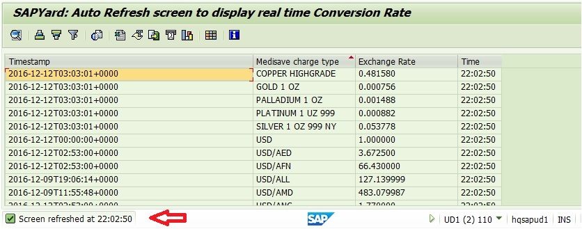 Real time forex rates api