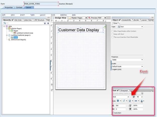 Tutorial in SAP Adobe Forms