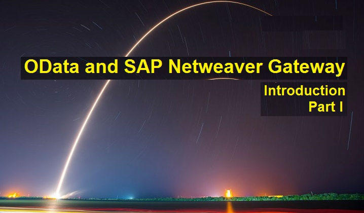 SAP Netweaver Gateway and OData