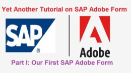 STEP BY STEP Tutorial on SAP Adobe Interactive Forms