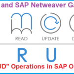 OData and SAP Netweaver Gateway. Part V. CRUD Operations in OData Services