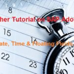 SAP Adobe Interactive Form Tutorial. Part III. Date Time and Floating Fields