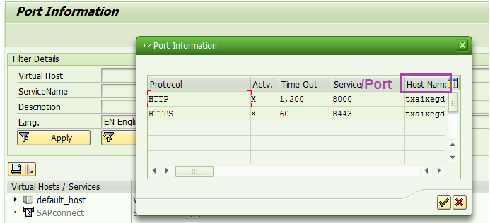 Host and Port