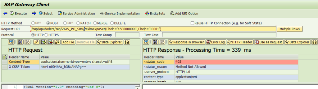 SAP Netweaver Gateway and oData Tutorial