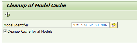 Cleanup of Model Cache