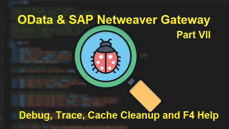 Debugging in SAP OData and SAP Netweaver Gateway Services