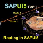 SAPUI5 Tutorial with WebIDE. Part II. Routing and Navigation in SAPUI5 Application