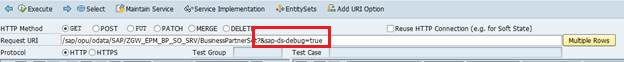 DEBUGGING IN SAP NETWEAVER GATEWAY