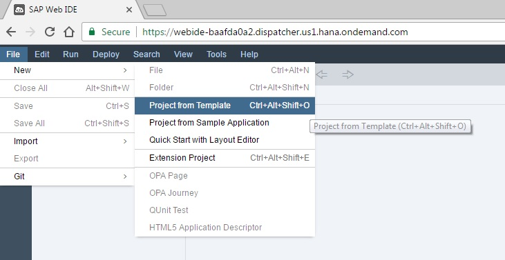 Create your first SAPUI5 application