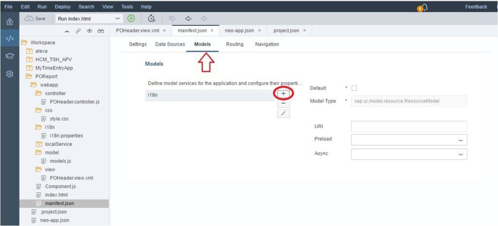 how to handle models in SAPUI5?