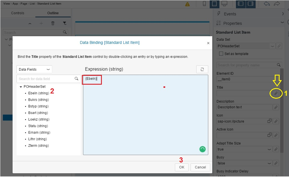 Data Binding in SAPUI5 and Fiori