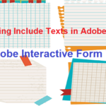 SAP Adobe Interactive Form Tutorial. Part VIII. Displaying Include Texts in Adobe forms