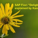 Fiori – Delightfulness explained by Kano model