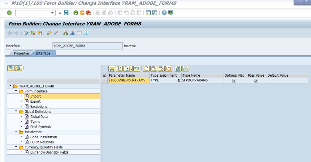 SAP Adobe Interactive Form Tutorial. Part VIII. Displaying Include ...