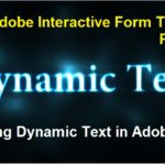 SAP Adobe Interactive Form Tutorial. Part IX. Displaying Dynamic Text in Adobe Forms