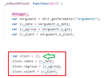 array and object in ui5