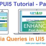 SAPUI5 Tutorial with WebIDE. Part X. Using Media Queries in UI5 Application