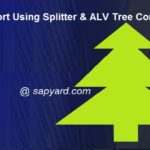 OOPs Report Using Splitter and ALV Tree Combination