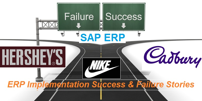 success and failure of erp implementation