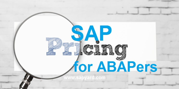 Pricing in SAP