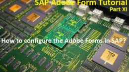 Configuring Adobe Forms