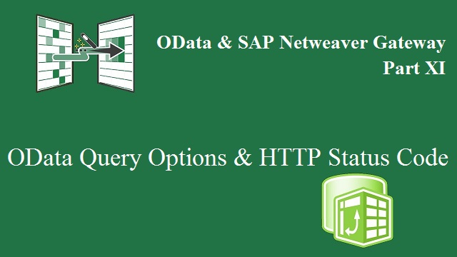 Query Options and HTTP Status Code