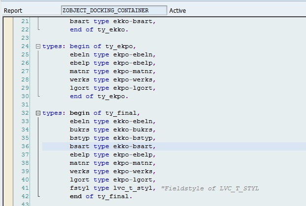 OOPS ALV Reports in ABAP