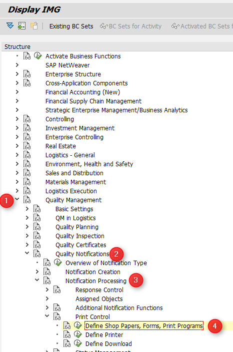 2. SAP Customizing Implementation Guide