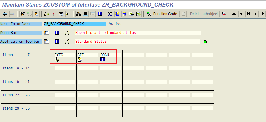 PF Status in SAP