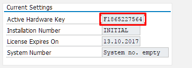 How to extend SAP Trial License?