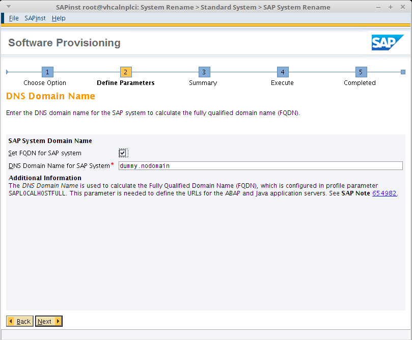 setting up personal SAP System