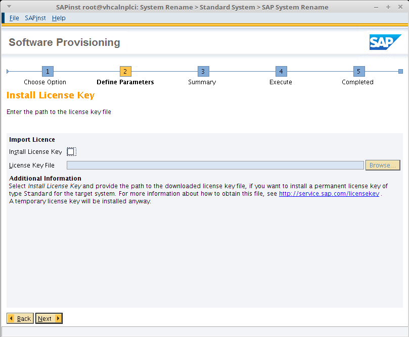Step by step instruction to install mini SAP