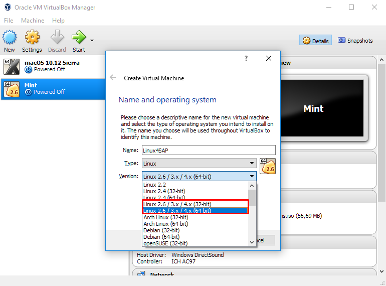 Operating System in SAP