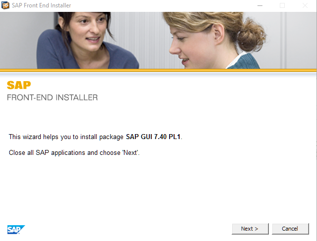 Installing and configuring SAPGui