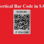 How to Print Vertical Bar Code in SAP Forms?