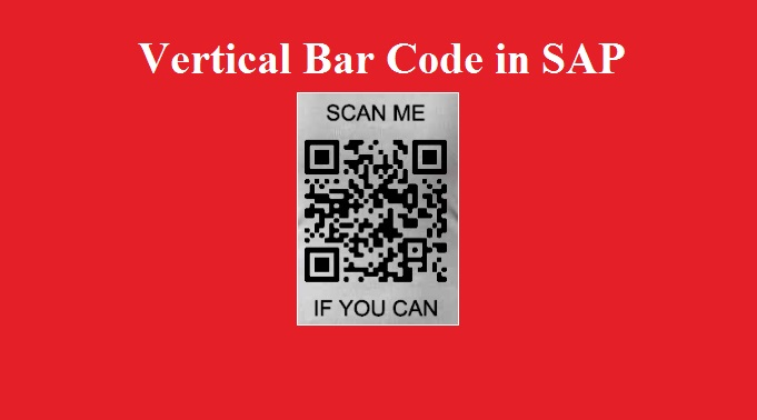 Bar Code in SAP Forms