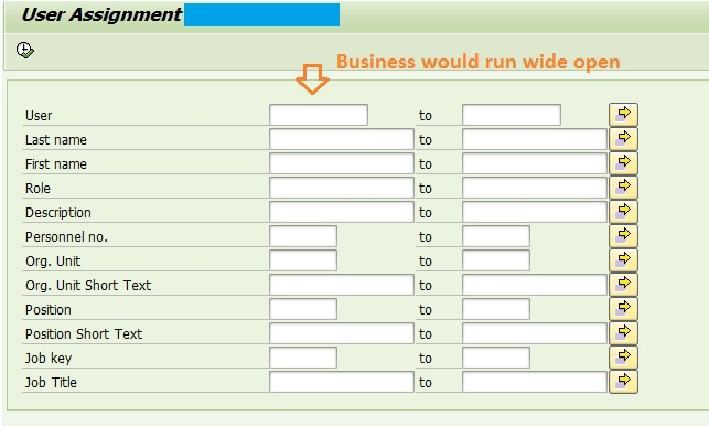sap abap selection screen